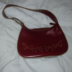 Merona maroon purse
